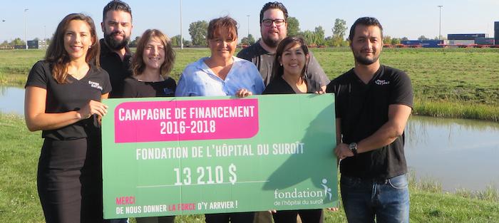 CSX et Groupe Antidote remise Fondation Hopital_du_Suroit sept2017