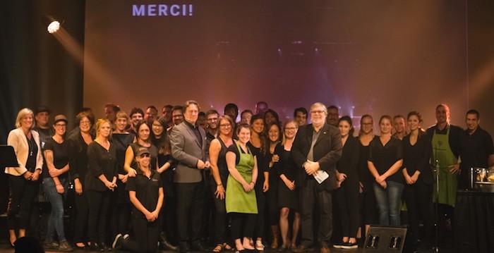 Employes et benevoles soiree benefice HSB Photo Alexandre_Seguin
