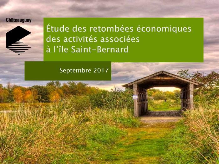 Etude des retombees economiques de l_ile St-Bernard Visuel via Ville Chateauguay