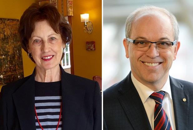MAVilleneuve et YVinet copresidents honneur Vins_et_causeris Fondation du College Valleyfield