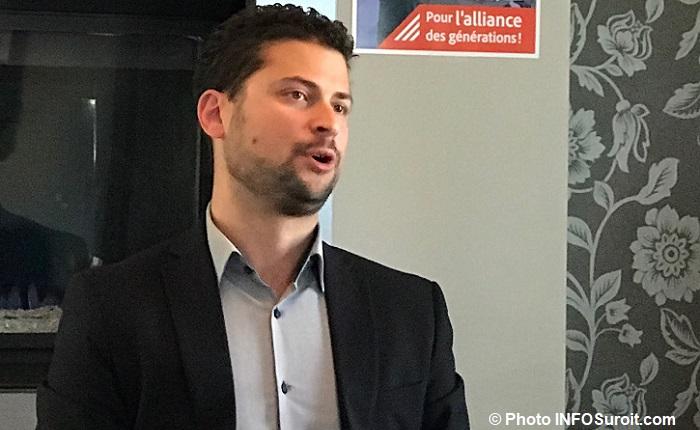 Miguel_Lemieux candidat a la mairie de Valleyfield 20oct2017 Photo INFOSuroit