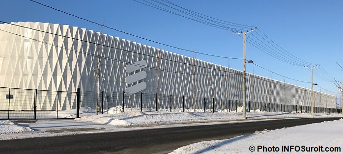 centre donnees data center Ericsson a Vaudreuil-Dorion Photo INFOSuroit