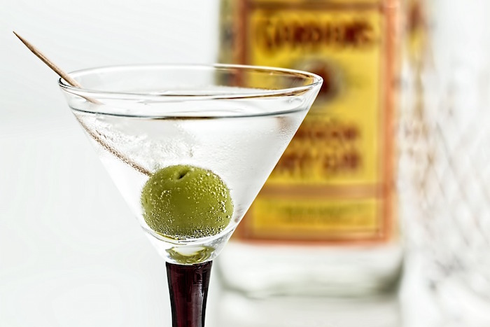 cocktail gin alcool Photo StevePb via Pixabay CC0