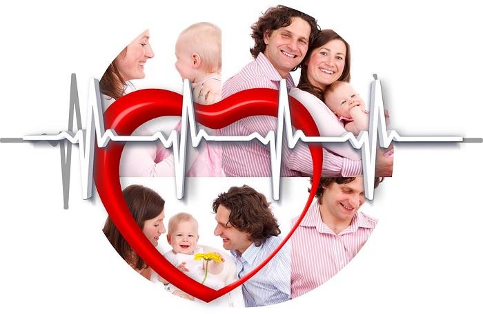coeur sante famille Photo Geralt via Pixabay CC0