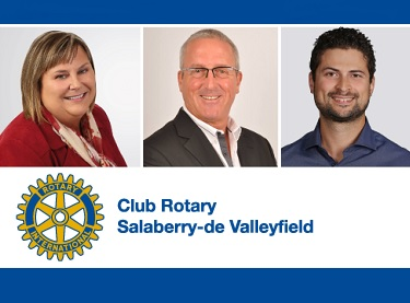 diner electoral Club Rotary Valleyfield JBrunet FLabossiere et MLemieux