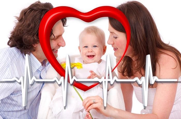 famille coeur sante Photo Geralt via Pixabay CC0