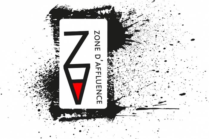 logo zone affluence cabaret bistro Visuel courtoisie