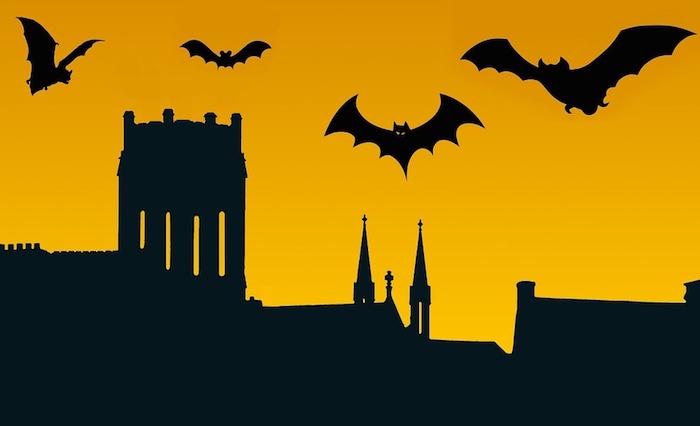 nuit halloween chauves-souris Image Stux via Pixabay CC0
