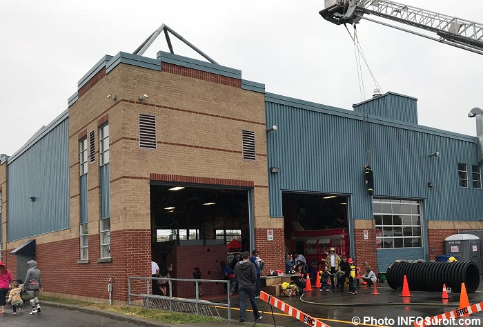 portes ouvertes caserne pompiers Valleyfield animation jeux exterieurs Photo INFOSuroit