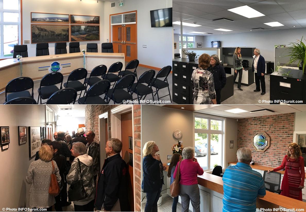salle du conseil Ormstown visite hotel de ville Photo INFOSuroit