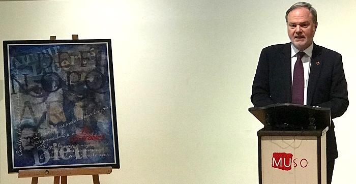 tableau RobertGougeon et senateur AndrePratte photo INFOSuroit