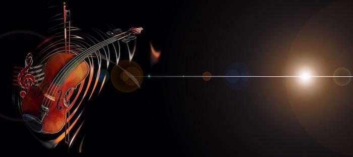 violon son musique symphonie Photo et visuel Geralt via Pixabay CC0