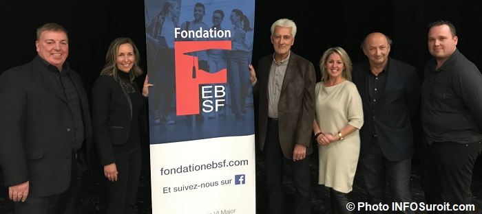 Ambassadeurs et president CA Fondation EBSF nov2017 Photo INFOSuroit