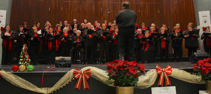 Choeur des Gondoliers concert temps des fetes Photo courtoisie