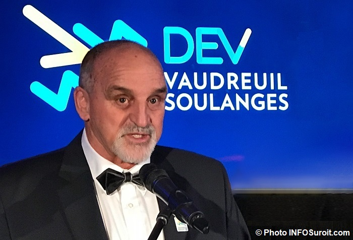 Guy Pilon lancement DEV Vaudreuil-Soulanges Photo INFOSuroit