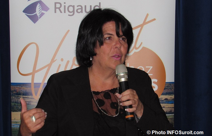 Rigaud Chantal_Lemieux directrice generale photo INFOSuroit
