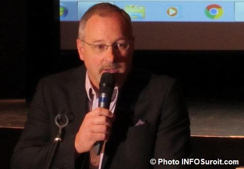 Sylvain_Leblanc directeur ecole Baie-St-Francois Photo INFOSuroit