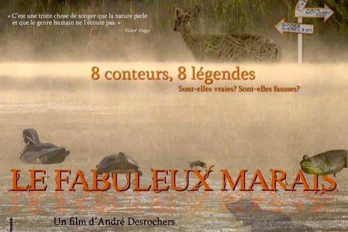affiche film Le_Fabuleux_Marais d_Andre_Desrochers image courtoisie
