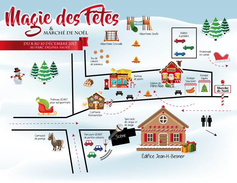 carte parc Delpha-Sauve Magie des Fetes 2017 a Valleyfield