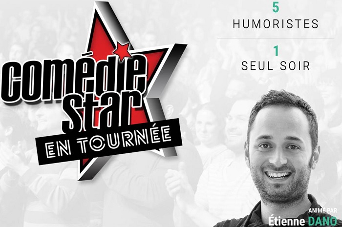 gala comedie star 5 humoristes dont etienne dano a valleyfield photo courtoisie valspec