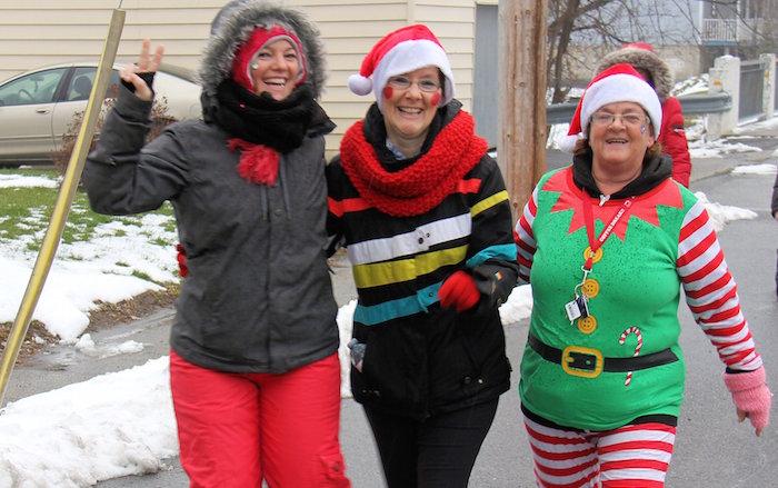 participantes cours et marche de Rudolphe a Ormstown photo courtoisie