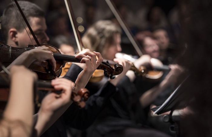 violons musique classique concert Photo Pexels via Pixabay CC0