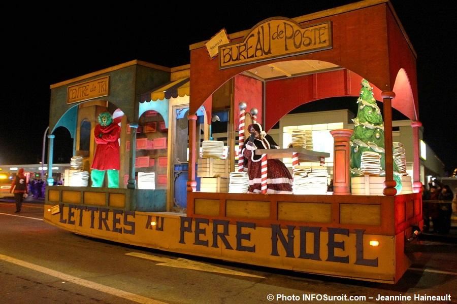 Chateauguay Histoire de Noel 2017 defile lettres Pere Noel lutin Mere Noel Photo INFOSuroit-Jeannine_Haineault