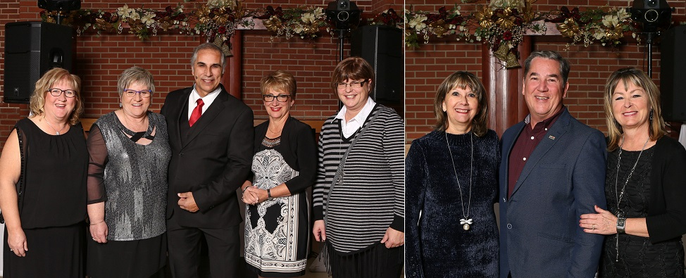 Ville Valleyfield reconnaissance annees de service groupe 30 ans et 25 ans photos courtoisie
