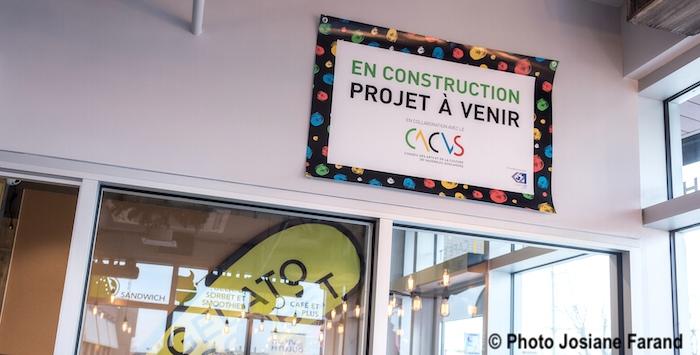 affiche En construction projet a venir CACVS photo Josiane_Farand