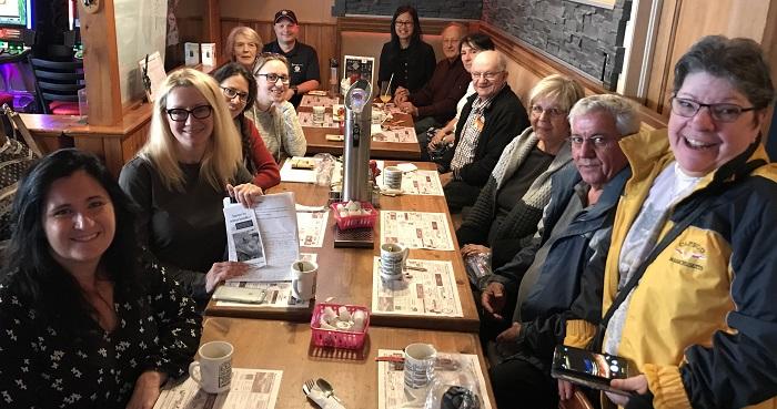 des participants au cafe rencontre avec AnneQuach 21 octobre chez GrandMan photo courtoisie