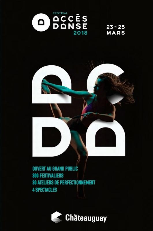 festival Acces Danse 2018 a Chateauguay couverture programme 2018 courtoisie VC