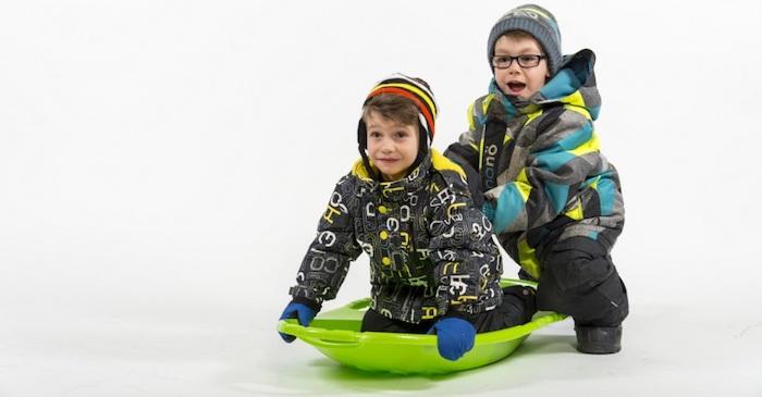 glissade neige enfants Photo courtoisie Ville Valleyfield