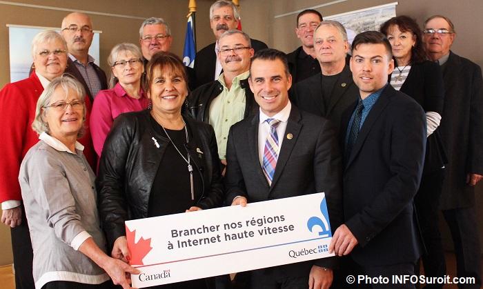 maires-du-Haut-Saint-Laurent-avec-ministre-SBillette-et-president-de-Targo-LPBourdon-Photo-INFOSuroit