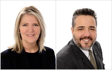 Chateauguay conseillers municipaux LucieLaberge et EricAllard photos courtoisie