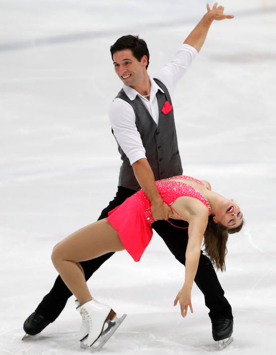 MaximeDeschamps CPA Vaudreuil et SydneyKolodziej photo PatinageSudOuest