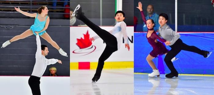patineurs du Sud-Ouest qui iront aux championnats 2018 photo courtoisie