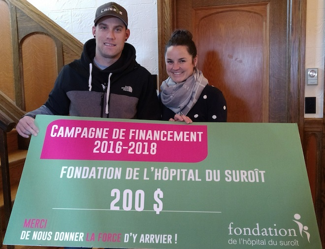 BenoitThompsonLoiselle et VLalande photo courtoisie fondation Hopital Suroit
