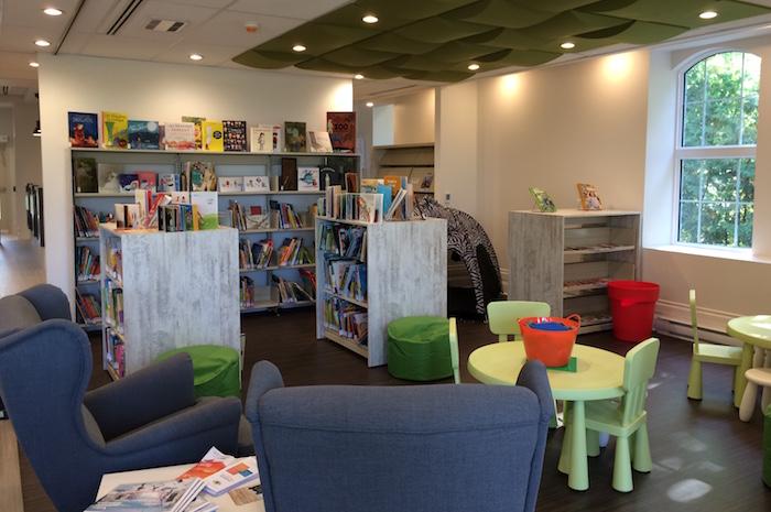 Bibliotheque Sainte-Martine livres coin enfants photo courtoisie