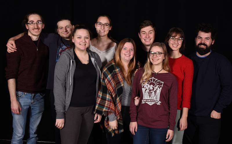 Cegep Valleyfield theatre Troupe-ecole 2018 photo ColVal publiee par INFOSuroit