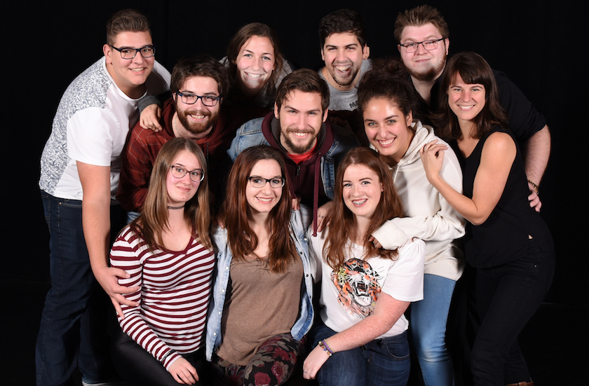 Cegep Valleyfield theatre Troupe principale 2018 photo via ColVal publiee par INFOSuroit