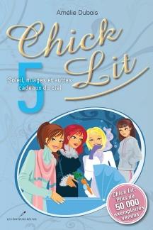 ChickLit 5 livre AmelieDubois couverture image courtoisie