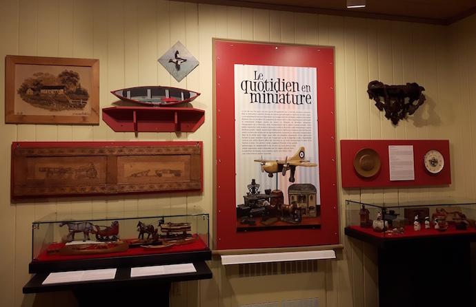 Exposition Quotidien en miniature photo courtoisie Musee regional Vaudreuil