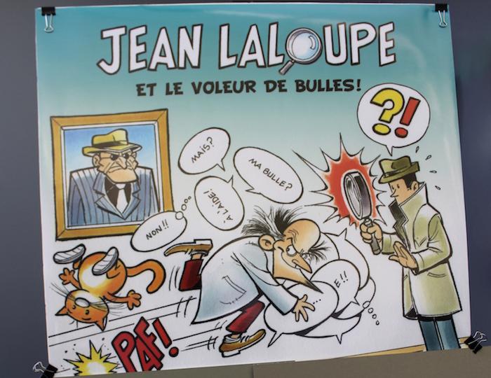 Jean_Laloupe et le voleur de bulles BD image courtoisie Ville Vaudreuil-Dorion