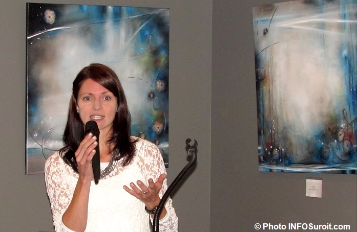artiste Manon_Desserres exposition 2014 a MRC Beauharnois-Salaberry Photo INFOSuroit