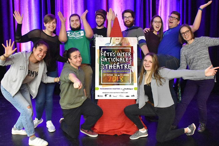 comite organisateur fetes internationales du theatre FIT College Valleyfield photo courtoisie