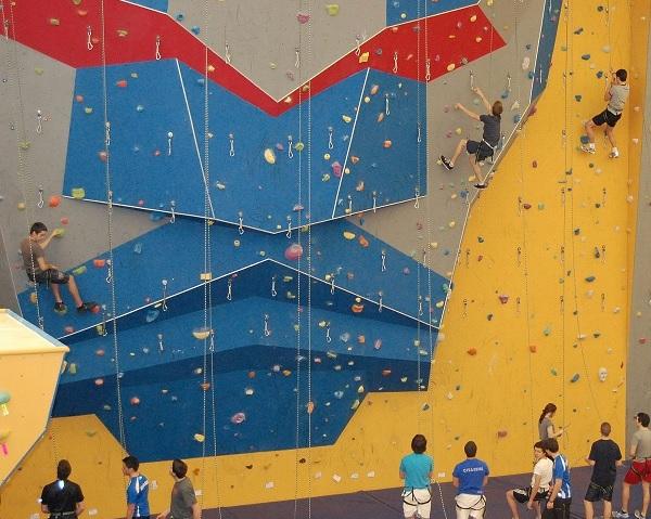 mur escalade au Centre Multisports a Vaudreuil-Dorion photo courtoisie VD