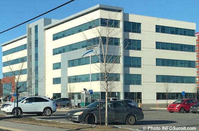 Centre ambulatoire et CLSC Ville Vaudreuil-Dorion mars 2018 photo INFOSuroit