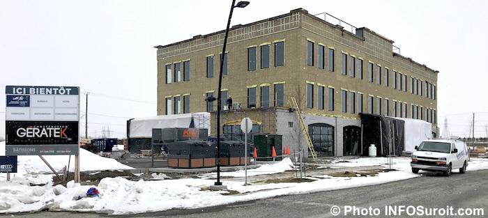 Espace30 a Beauharnois parc industriel edifice a bureaux mars2018 photo INFOSuroit