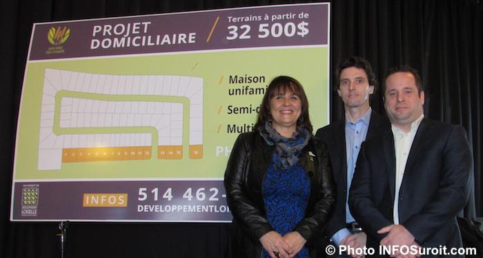 LLebrun avec PLoiselle et MLoiselle fev 2017 devoilement projet residentiel photo INFOSuroit