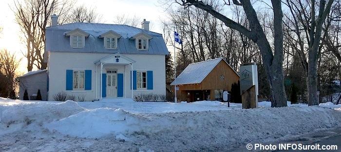 Maison Felix-Leclerc jan2018 Vaudreuil-Dorion Photo INFOSuroit_com